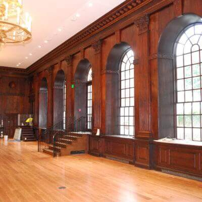 Harvard Dunster House Dining Hall