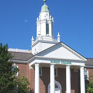 Babson College Mattos Hall and Forest Hall