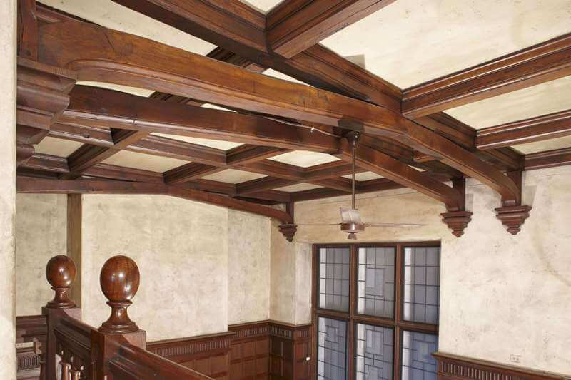 Naumburg-Suite-Harvard-Art-Museums-Coffer-beam-ceiling-after-reinstallation-RESIZED