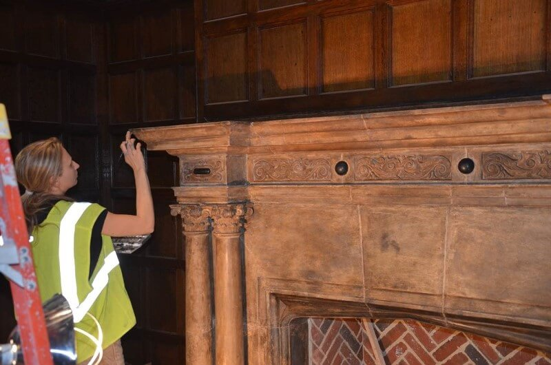 Naumburg-Suite-Harvard-Art-Museums-During-the-restoration-to-the-limestone-fireplace-surround-RESIZED