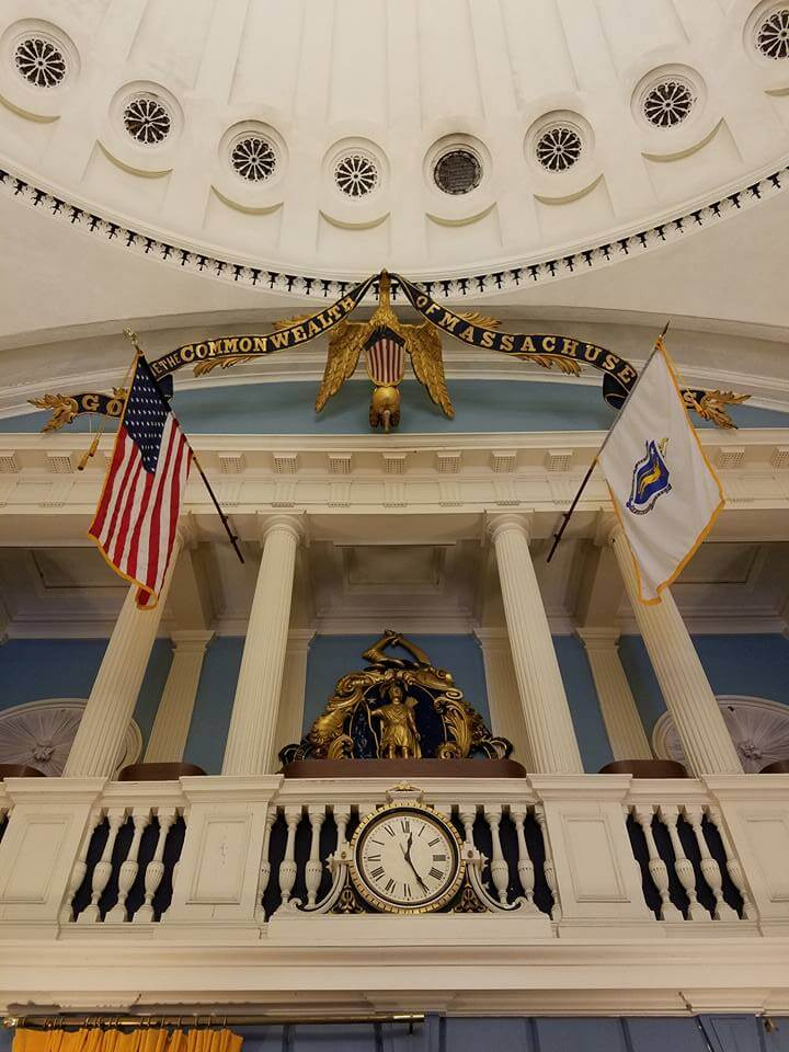 Beneath The Golden Dome: Restoring The Massachusetts State House Senate Chamber